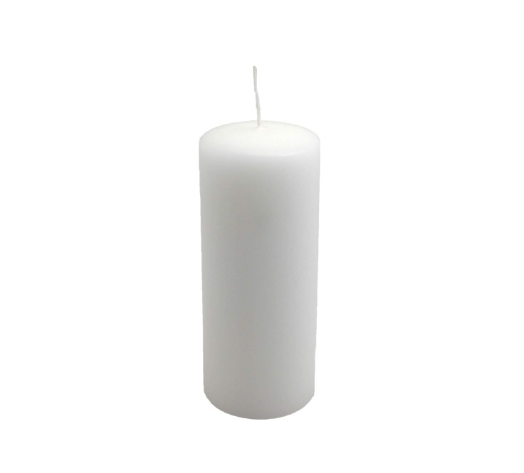 Candelotto moccolo 60x150 mm Bianco