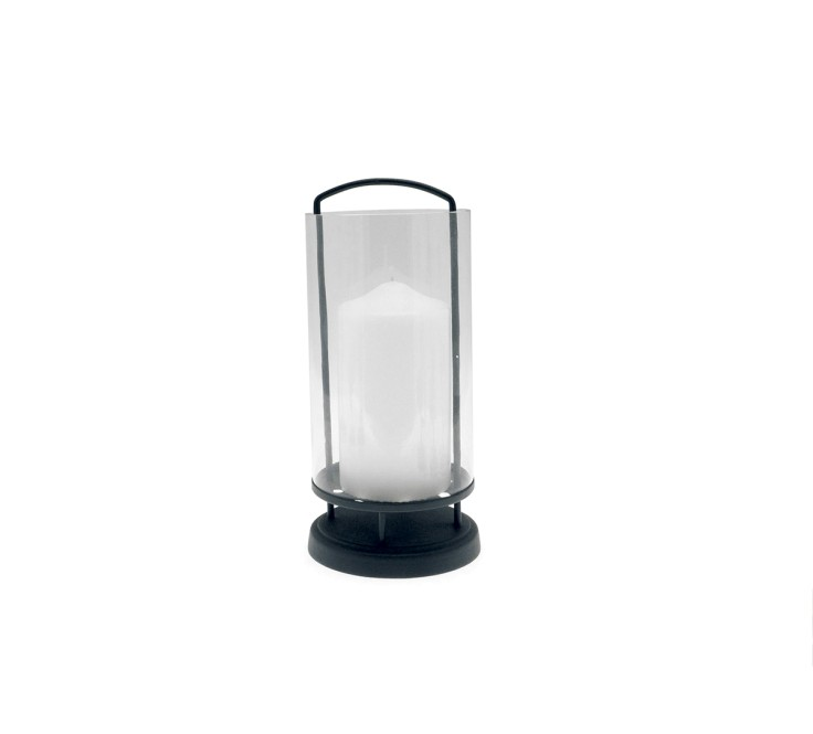 Lanterna  h. 32 cm (hurricane)