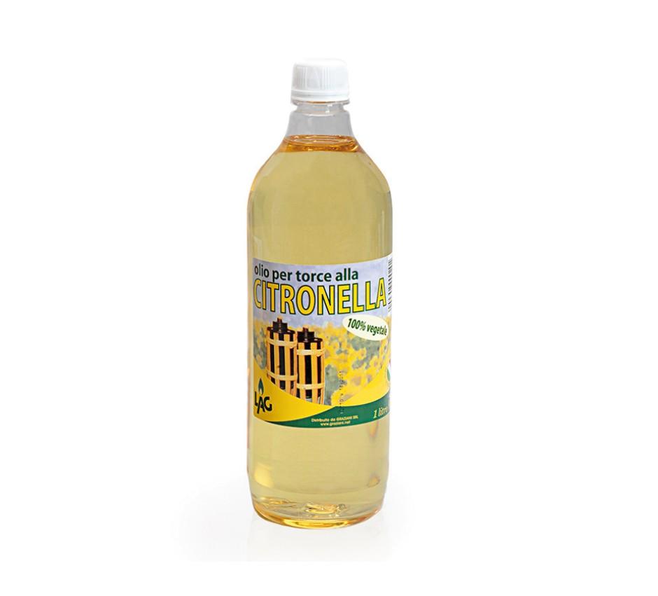 Olio per Torce alla Citronella 1 lt