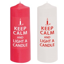 Candelotto 80x240 mm Keep Calm
