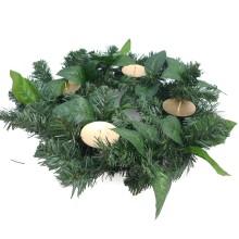 Corona avvento verde - centrotavola natale