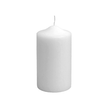 Candelotto moccolo 80x150 mm Bianco