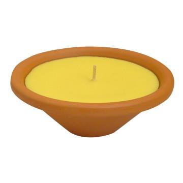 Candela alla citronella da interno LIVORNO