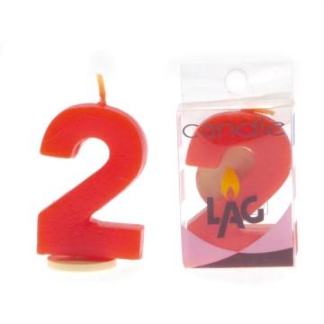 candela per compleanno NUMERO