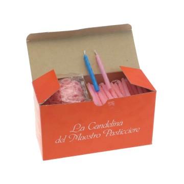 Box 200 candeline per compleanno Pasticcere