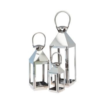 CORTINA set 3 lanterne  max h. 55,5 cm