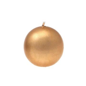 candela sfera oro diam. 60 mm